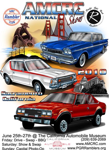 AMCRC National Convention - Sacramento car show and swap meet