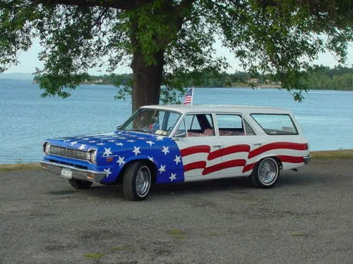 Mark and Nora's '66 American Wagon.