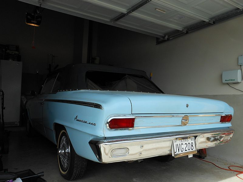 How Many Miles From >> 1965 Rambler American 440 conv For Sale