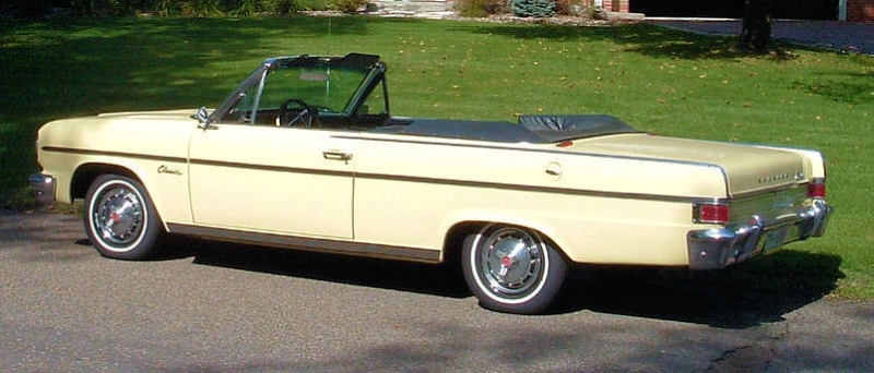1965 rambler classic 770 convertible for sale for Classic american convertibles for sale